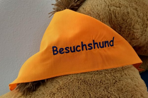 """Halstuch """"besuchshund"""""""